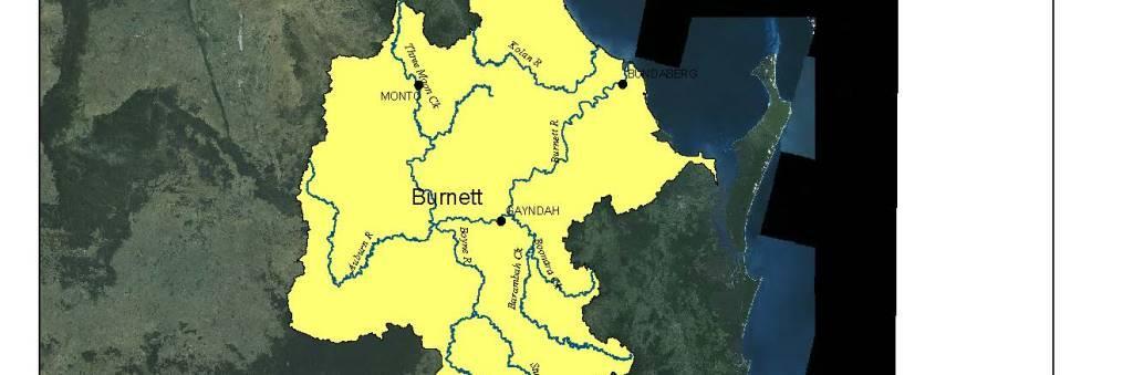Burnett Inland Map